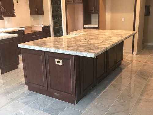Marble Tile Floor Doesn T Match