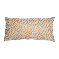 St. Tropez Gold Braid 22x22 Pillow
