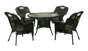 Riviera 5-Piece Outdoor Dining Group