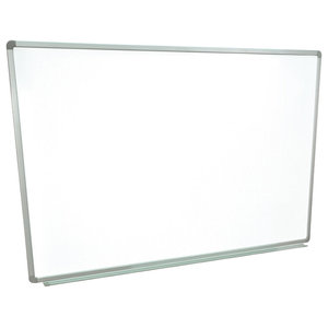 "The Luxor WB6040W Markerboard Is A 60""x40"" Wall- Mounted Magnetic Whiteboard"