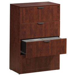 Transitional Filing Cabinets by OfficeSource