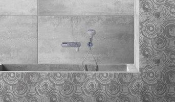 Vasca da bagno rivestita in ceramica
