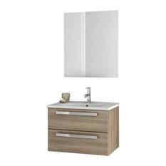 """24"""" Style Oak Bathroom Vanity Set"""