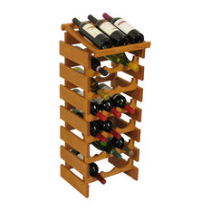 Wooden Mallet 21-Bottle Dakota Wine Rack With Display Top