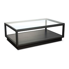Cocktail Table in Textured Black