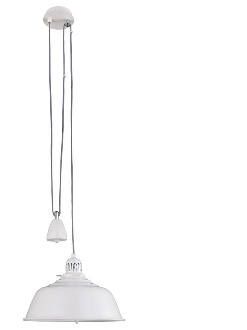 Coastal chic inspired lighting fisherman pendant ceiling light rise and fall cream pendant lighting aloadofball Gallery