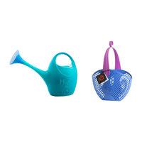2-Piece Gardening Set, Turquoise