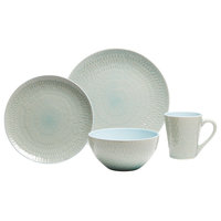 Palisades Mint 16-Piece Dinnerware Set