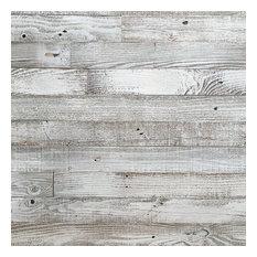 Whitewash Barn Wood Planks, 440 sq. ft