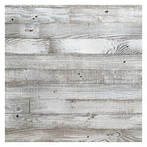 Whitewash Barn Wood Planks, 500 sq. ft