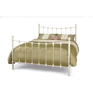 Marseilles Bed, White, UK King