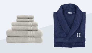 Up to 50% Off Luxe Bath Linens by Hue