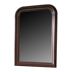 Liberty Furniture Carriage Court Youth Mirror, Mahogany