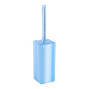 Ivasi Toilet Brush and Holder, Light Blue
