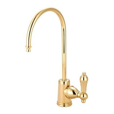 Gourmetier Restoration Water Filtration Faucet, Polished Brass