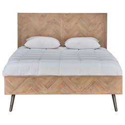 Midcentury Panel Beds by Kosas