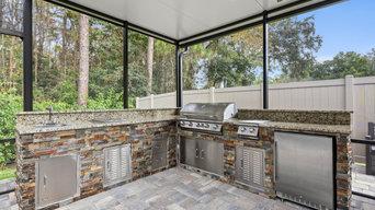 Complete patio remodel Jax