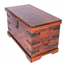 Traditional Stylish Storage Chest in Solid Sheesham Wood
