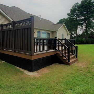 Baywood Trex Deck