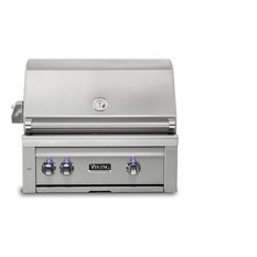 """Viking Range Corporation - Viking Professional 30"""" Natural Gas Built-in Grill, Stainless Steel - Outdoor Grills"""