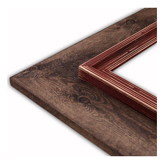 "Cheyenne Rust Picture Frame, Solid Wood, 8""x8"""