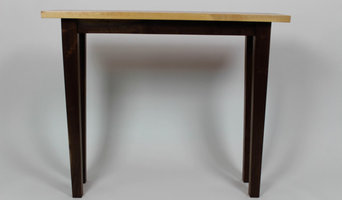 Maple and Ash Entryway Table