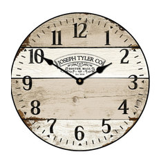 Farmhouse Wall Clocks Houzz