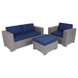 Tropical Outdoor Lounge Sets by Slim Furniture
