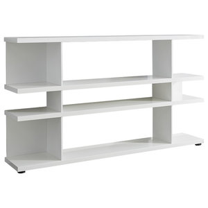 Lines Sideboard Shelf, White Gloss