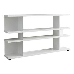 Lines Sideboard Shelf, White Gloss