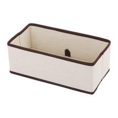 Ybm Home Fabric Closet/Dresser Drawer Storage Foldable,Organizer, Cube Bin, Medi