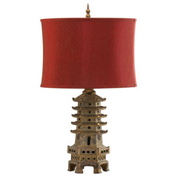 Perfect Asian Table Lamps by HomeClick