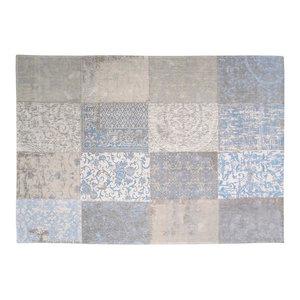 Cameo Kopie Gustavian Blue 8237 Rectangle Modern Rug 140x200cm
