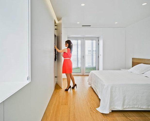 Contemporáneo Dormitorio by Pablo Muñoz Payá Arquitectos