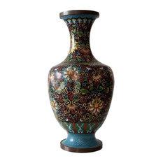 Consigned, Antique Cloisonne Bottomless Vase