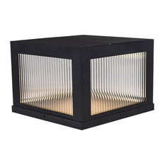 Avenue Outdoor 1 Light Post Light or Accessories in Black