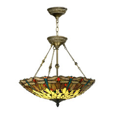 Springdale Corrall Dragonfly Hanging Fixture
