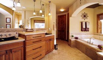 interior design: master bath