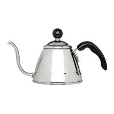 Fino Stainless Steel 1 Liter Narrow Spout Tea Kettle