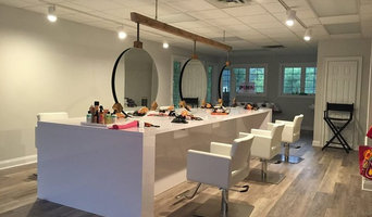 Blow Dry Bar  Double HANGING Mirror System