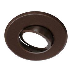 """5/6"""" LED Gimbal Downlight Retrofit Kit, 2700K Oil-Rubbed Bronze"""
