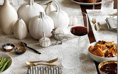 Set an Eclectic Thanksgiving Table