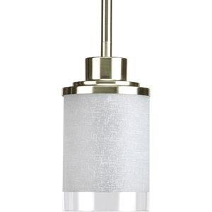 Progress Lighting P5147-09 Alexa 1-Light Mini Pendants, Brushed Nickel