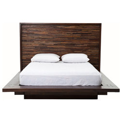 Rustic Platform Beds by The Khazana Home Austin Furniture Store