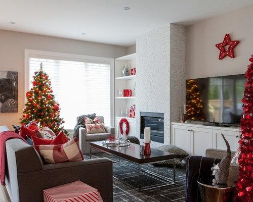 Family room leaside toronto holiday home decorating for Home decor toronto