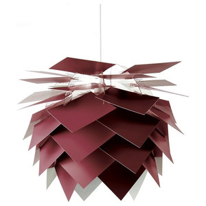 Illumin Desert Pendant Lamp, Red