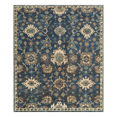 Loloi Empress EU-03 Denim, Beige Area Rug, 8'x10'