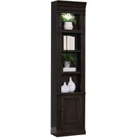 Parker House Washington Heights WAS#420 Open Top Bookcase in Charcoal