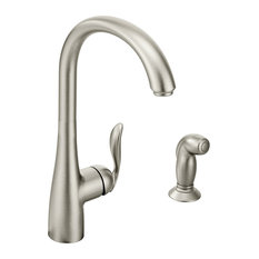 Moen Arbor Spot Resist Stainless One-Handle Kitchen Faucet 7790SRS