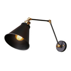 lamp swing lamps library troy arm wall house of ob
